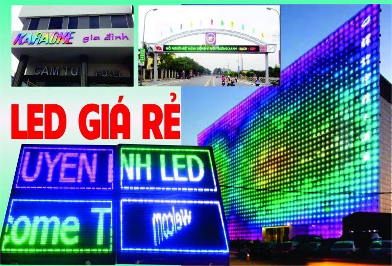 BẢNG ĐIỆN TỬ LED màn hình gr