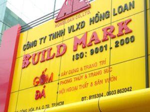 Thi công bảng hiệu giá rẻ tại TPHCM, Bình Dương