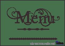 vector menu