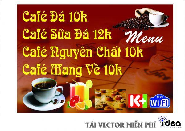BẢNG HIỆU CÀ PHÊ COFFE