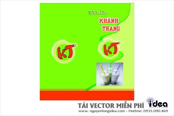 Vector menu xanh lá
