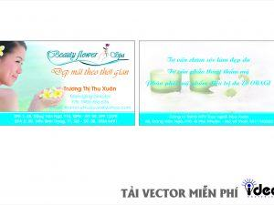 Vector name card SPA