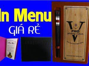 in menu Bình Thạnh