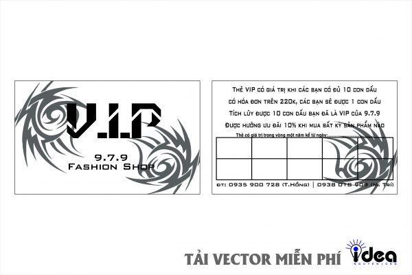 name card VIP