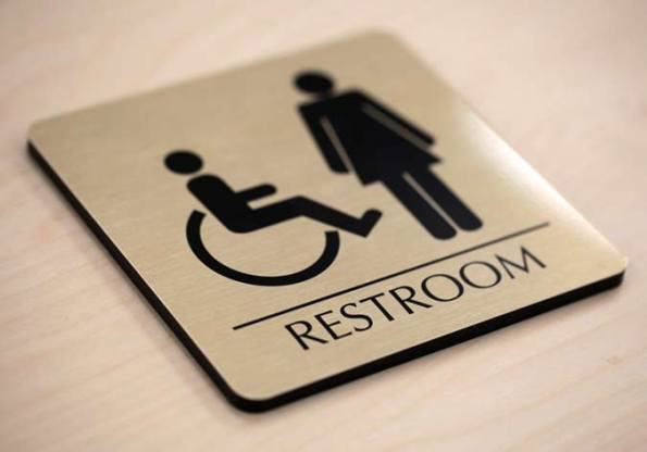 Bảng hiệu Toilet , WC (1)