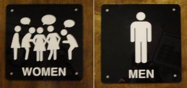 Bảng hiệu Toilet , WC (4)