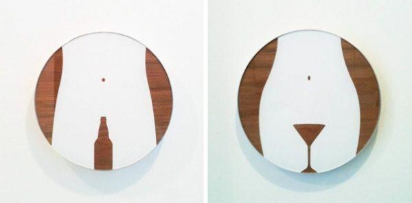 Bảng hiệu Toilet , WC riệu bia