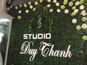 Làm bảng hiệu cỏ co studio