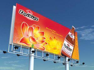 Mẫu in bảng hiệu quảng cáo ngoài trời