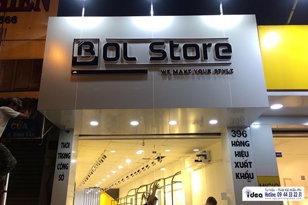 Làm bảng hiệu shop thời trang nhanh giá rẻ .