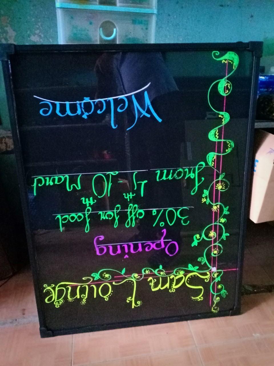 Bảng huỳnh quang led viết tay