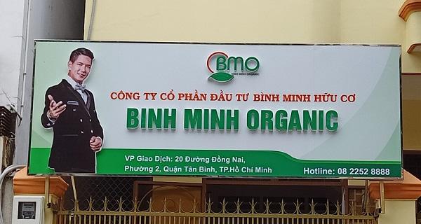 Mẫu biển hiệu quảng cáo công ty thực hiện tại Nguyễn Long idea cực đẹp