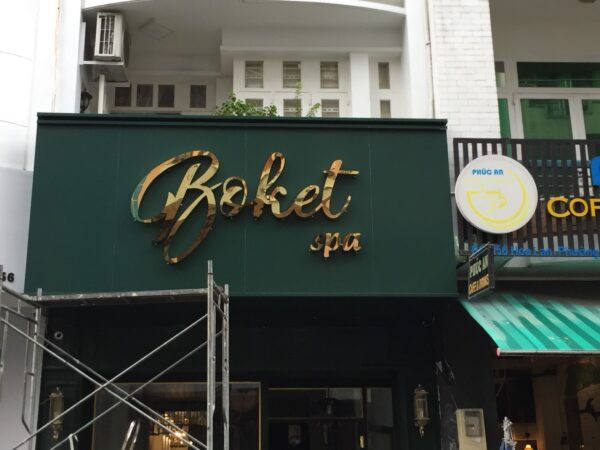 Mẫu biển hiệu quảng cáo đẹp tại TP. Hồ Chí Minh