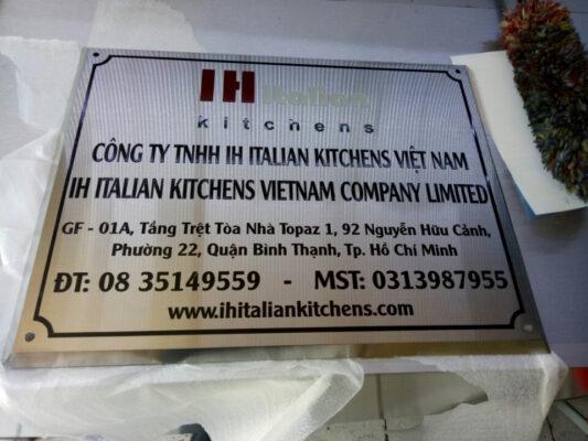 Mẫu bảng hiệu quảng cáo công ty đẹp tại hcm