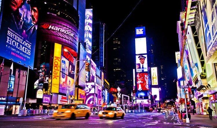 Tô điểm thành phố với những bảng LED ma trận